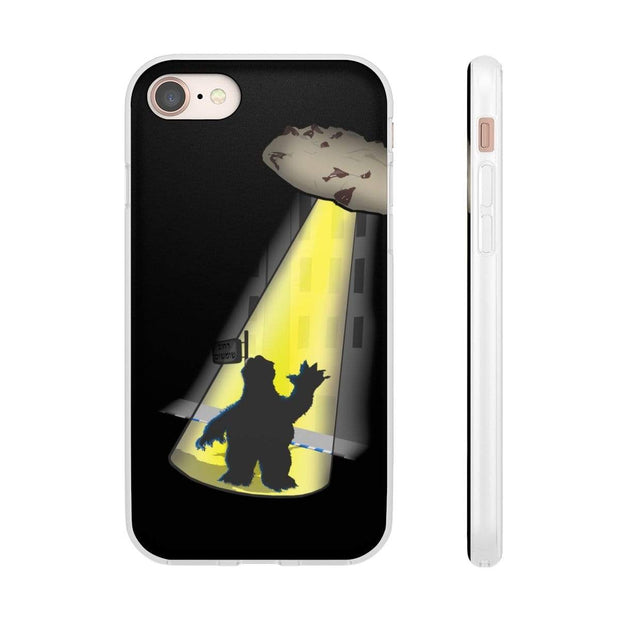 """Space Cookie"" Flexi Phone Case - Awesome, custom designed T-shirts & Art  
