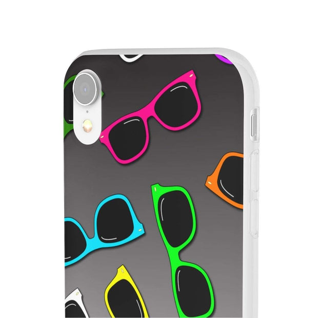 """Sunglasses"" Flexi Phone Case - Awesome, custom designed T-shirts & Art  