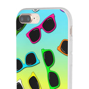 """Sunglasses II"" Flexi Phone Case - Awesome, custom designed T-shirts & Art  