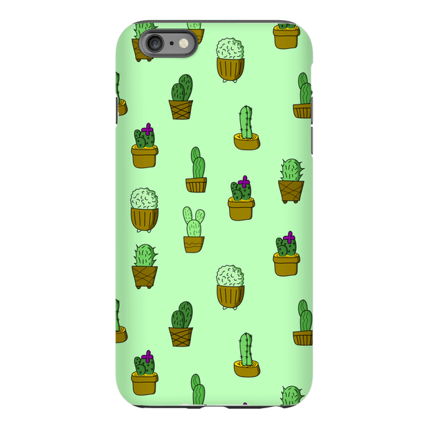 """Cactus - Green"" Phone Case - Awesome, custom designed T-shirts & Art  