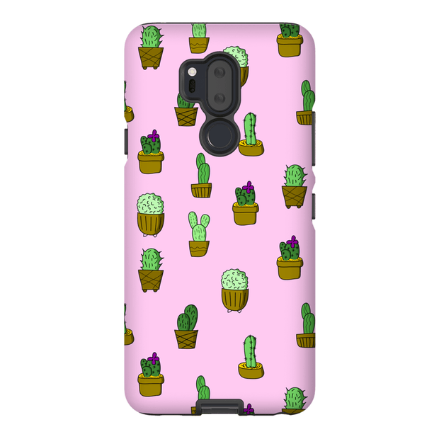 """Cactus - Pink"" Phone Case - Designs by Royi .B."