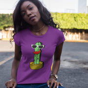 """Cactus #5"" Custom T-Shirt for Women - Designs by Royi .B."