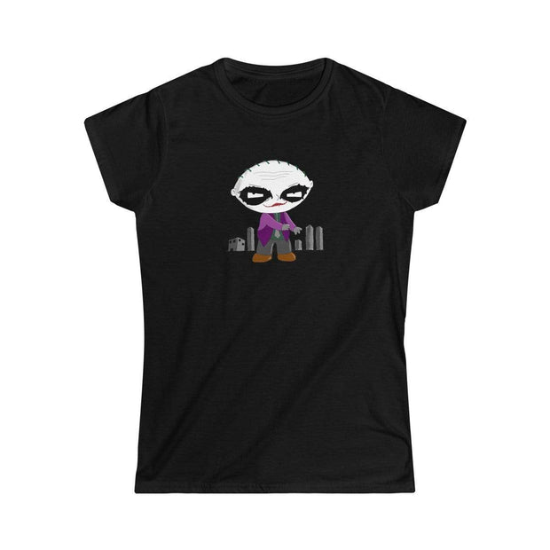 """Why So Serious?""  Custom T-Shirt for Women - Designs by Royi .B."