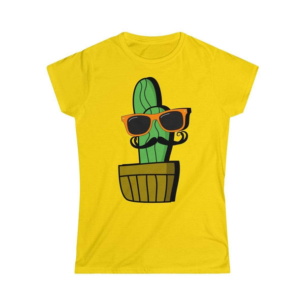 """Cactus #4"" Custom T-Shirt for Women - Awesome, custom designed T-shirts & Art  