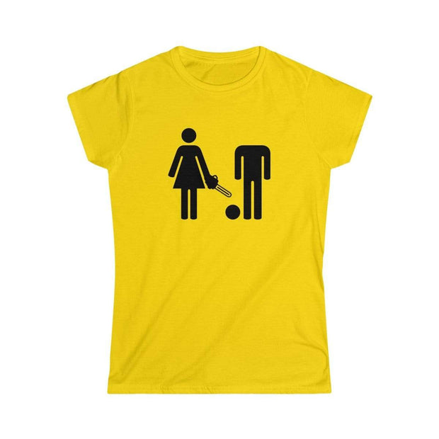 """WC Sign""  Custom T-Shirt for Women - Designs by Royi .B."