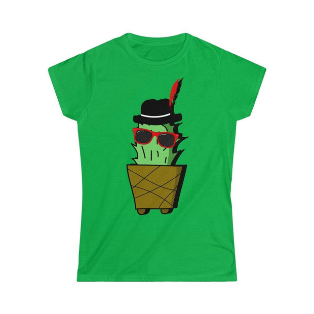 """Cactus #3"" Custom T-Shirt for Women - Designs by Royi .B."