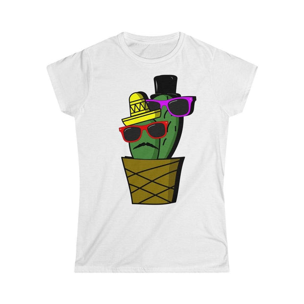 """Cactus #6"" Custom T-Shirt for Women - Awesome, custom designed T-shirts & Art  