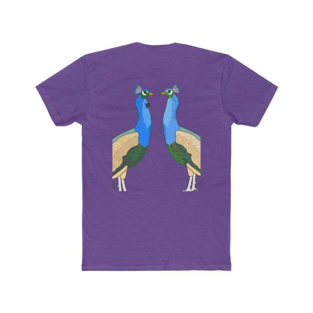 """Peacocks"" T-shirt T-shirt for Men - Awesome, custom designed T-shirts & Art  
