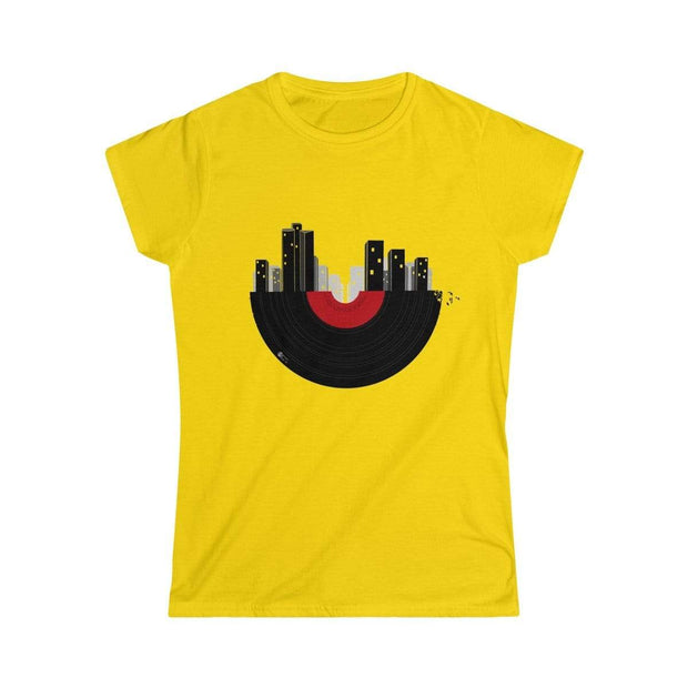 """Tel Aviv""  Custom T-Shirt for Women - Designs by Royi .B."