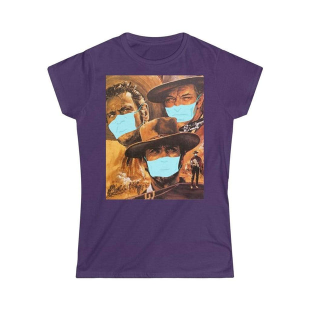 """The Good, The Bad And The Virus""  Soft-Style T-Shirt for Women - Awesome, custom designed T-shirts & Art  