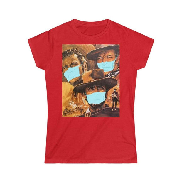 """The Good, The Bad And The Virus"" Custom T-Shirt for Women - Awesome, custom designed T-shirts & Art  