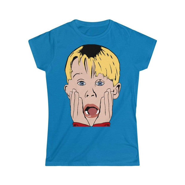"""Home Alone""  Custom T-Shirt for Women - Designs by Royi .B."