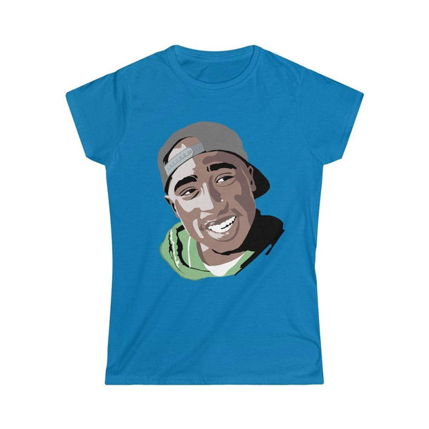 """The West Side King""  Custom T-Shirt for Women - Designs by Royi .B."