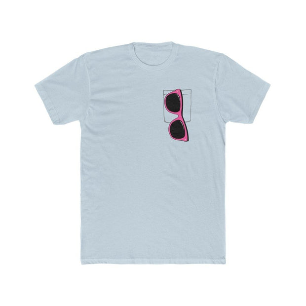 """Pink Sunglasses"" T-shirt for Men - Awesome, custom designed T-shirts & Art  