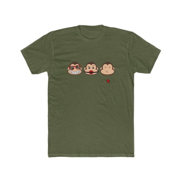 """The 3 Monkeys"" T-shirt for Men - Awesome, custom designed T-shirts & Art  
