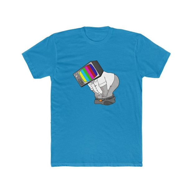 """Fart on TV"" T-shirt for Men - Awesome, custom designed T-shirts & Art  