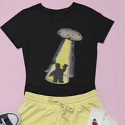 """Space Cookie""  Custom T-Shirt for Women - Awesome, custom designed T-shirts & Art  