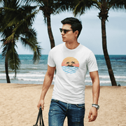 """Sunset"" T-shirt for Men - Awesome, custom designed T-shirts & Art  
