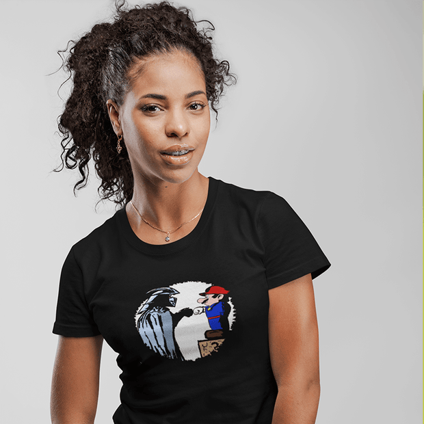 """The Fist Bump""  Custom T-Shirt for Women - Awesome, custom designed T-shirts & Art  