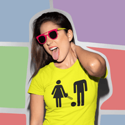 """WC Sign""  Custom T-Shirt for Women - Awesome, custom designed T-shirts & Art  