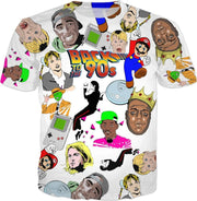 """Back to the 90's Party!"" - Custom T-shirt for Men - Awesome, custom designed T-shirts & Art  
