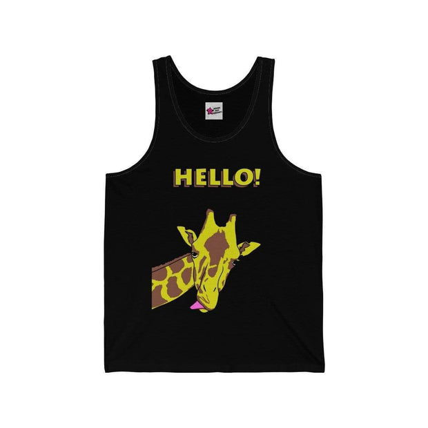 """Hello!"" Tank Top for Men - Designs by Royi .B."