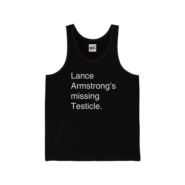 """Lance Armstrong"" Tank Top for Men - Awesome, custom designed T-shirts & Art  