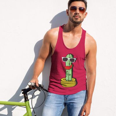 """Cactus #5"" Tank Top for Men - Awesome, custom designed T-shirts & Art  
