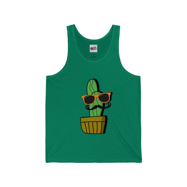 """Cactus #4"" Tank Top for Men - Awesome, custom designed T-shirts & Art  