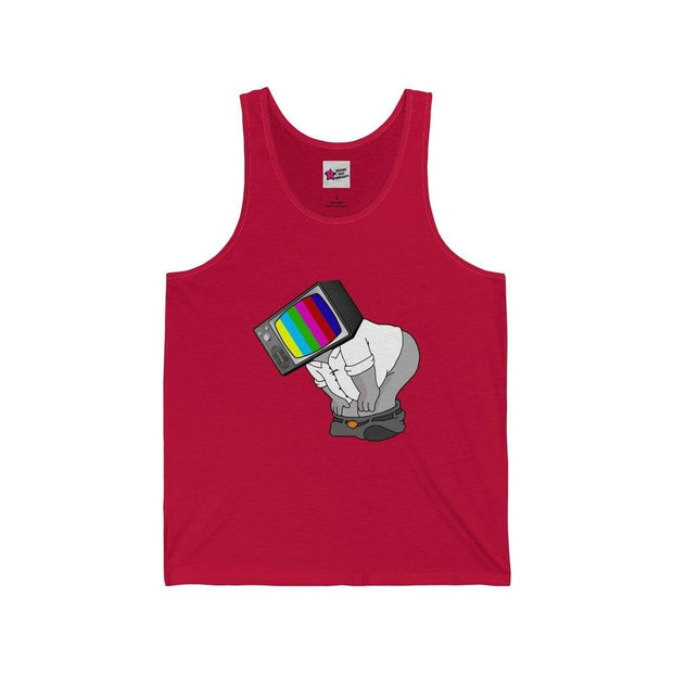 """Fart on TV"" Tank Top for Men - Awesome, custom designed T-shirts & Art  