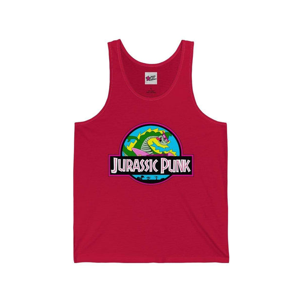 """Jurassic Punk"" Tank Top for Men - Awesome, custom designed T-shirts & Art  