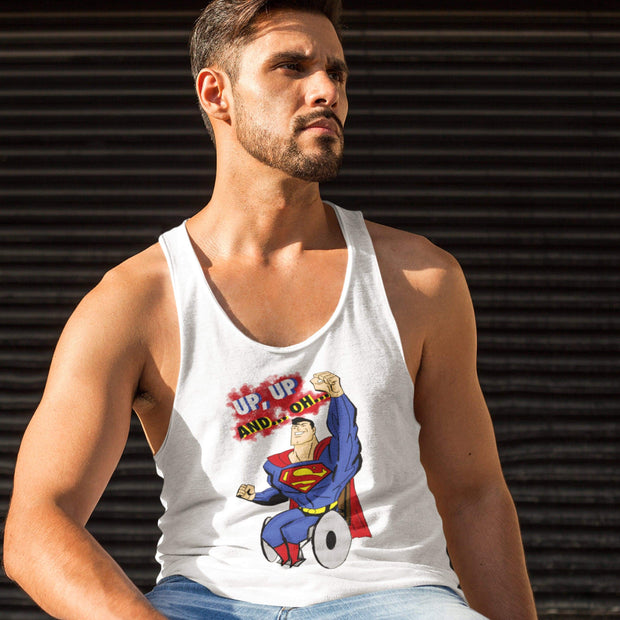 """Up Up"" Tank Top for Men - Awesome, custom designed T-shirts & Art  