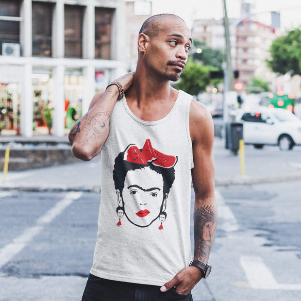 """Watermelon"" Tank Top for Men - Designs by Royi .B."