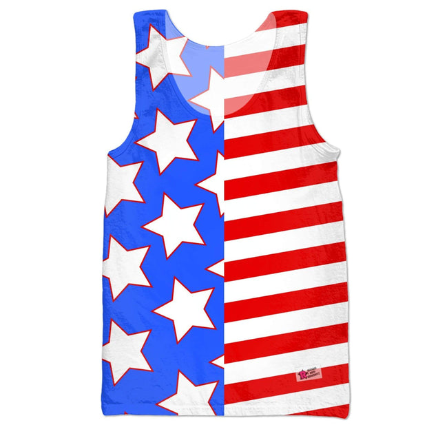 """Americana"" Tank Top for Men - Awesome, custom designed T-shirts & Art  