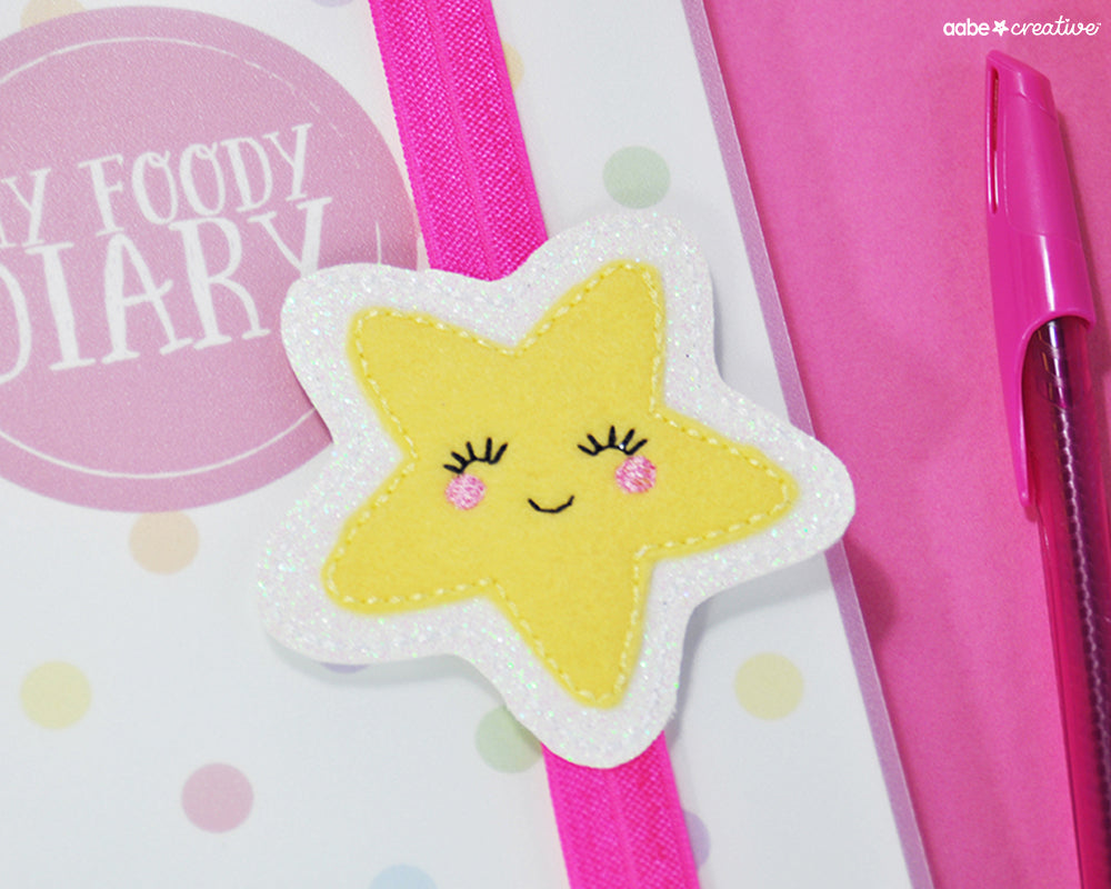 Cutie Star (yellow) Book Band