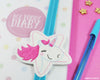 Una Unicorn Book Band - Handmade by aabe creative