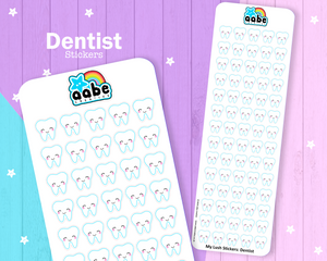 My Lush Stickers: Dentist
