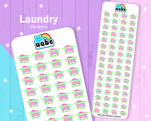 My Lush Stickers: Laundry