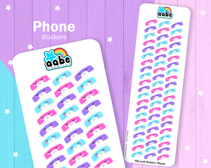 My Lush Stickers: Phone