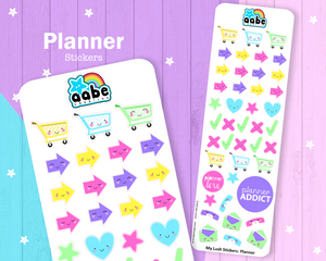 My Lush Stickers: Planner