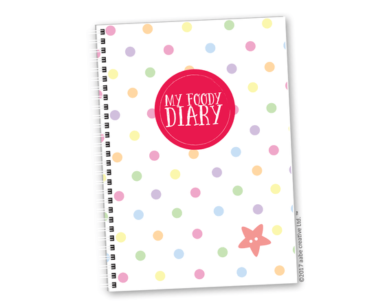My Foody Diary: The Body Coach compatible - Handmade by aabe creative