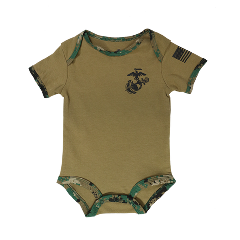 Youth Woodland/Coyote Brown 2 Pack Onesie