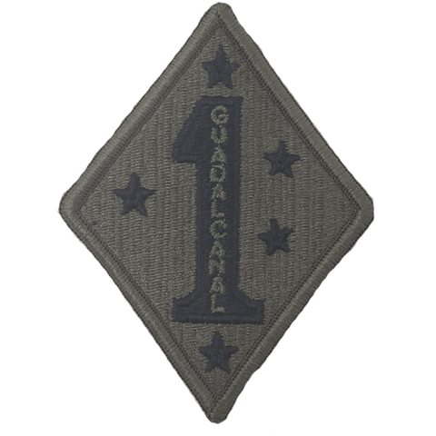 1st marine division olive patch Patches