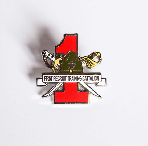 1st Recruit Training Battalion Pin Pins