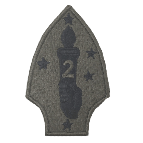 2nd marine division olive patch Patches