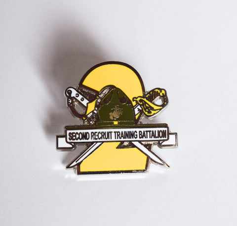 2nd Recruit Training Battalion Pin Pins