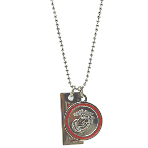2pc EGA Semper Fi Necklace