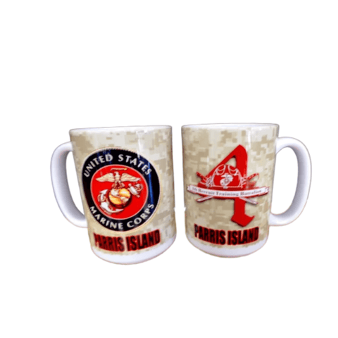 4th Battalion Parris Island Coffee Mug Drinkware