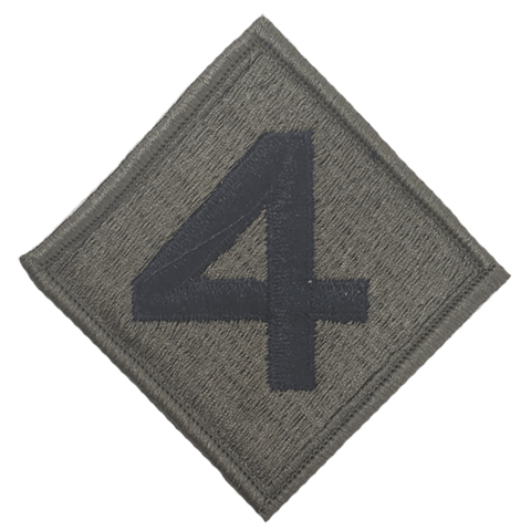 4th marine division olive patch Patches