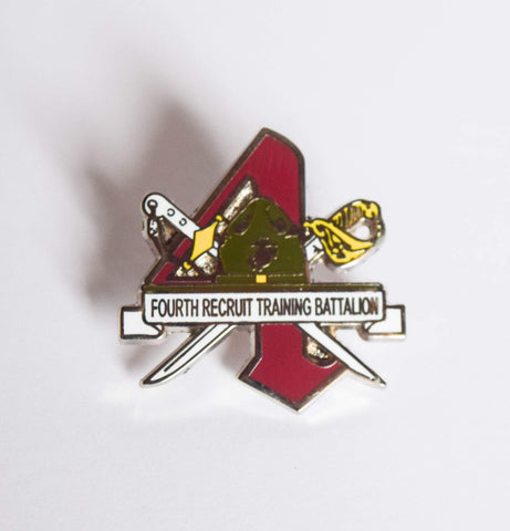 4th Recruit Training Battalion Pin Pins